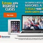 Walmart Promocion Regreso a Clases con Banamex