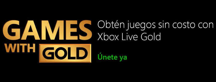 Xbox Games with Gold Agost 2015