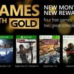 Xbox Live Gold Gratis Septiembre 2015