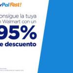 """PayPal Fest descuento en pantallas de 70"""" en Walmart"""