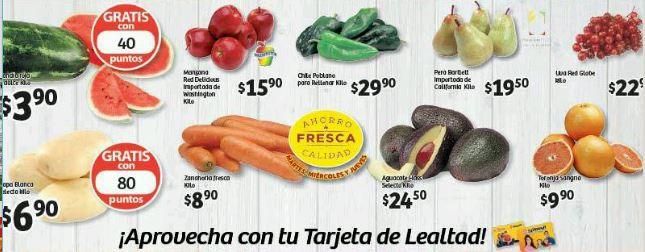 Soriana Ofertas de frutas y verduras