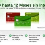 Amazon Hasta 12 meses sin intereses con tarjetas de crédito