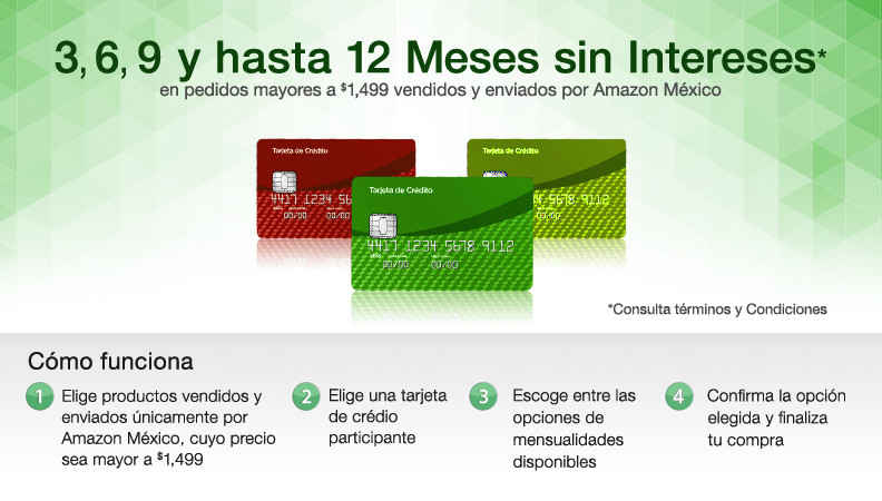 comprar en amazon a plazos sin intereses
