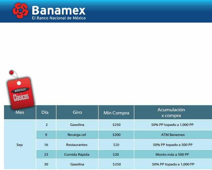 Banamex Miércoles Clásicos