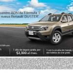 Boletos de Cine GRATIS con prueba de manejo de Autos Renault