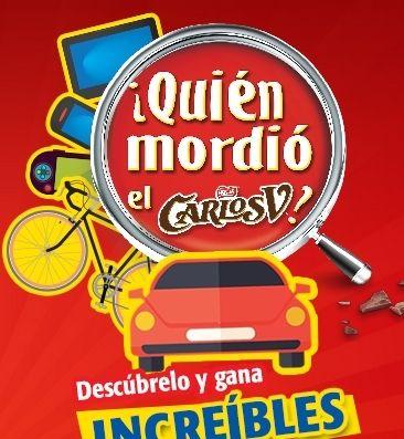 Promoción Carlos V Gana Pantallas, iPhone 6, Videojuegos, Viajes