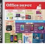 Catálogo de ofertas Office Depot mes de septiembre