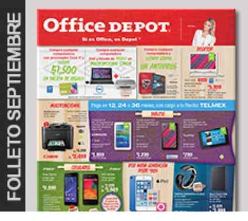 Cat logo de ofertas office depot mes de septiembre - Hogarium catalogo de ofertas ...