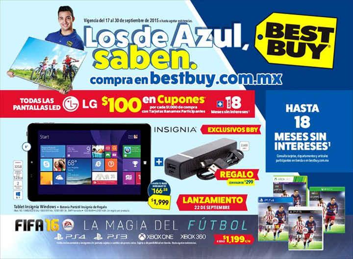 Catálogo de promociones Best Buy del 17 al 30 de Septiembre