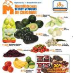 Martes y Miércoles de Frutas y Verduras en Chedraui