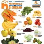Chedraui Martes y Miércoles de Frutas y Verduras