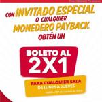 Cinemex 2x1 en Boletos de Cine de lunes a Jueves