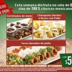 Vips Clásicos Mexicanos a $50 cada uno