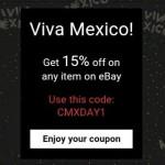 eBay Cupón de descuento Viva México!