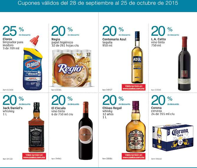 Costco Cuponera septiembre octubre 2015