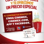 Cinemex Boletos de Cine con descuento en línea, App, teléfono o Facebook