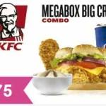 KFC Cupón de descuento megabox a buen precio