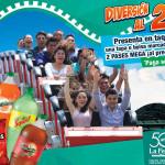 La Feria de Chapultepec 2X1 en pases Mega