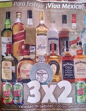 Mercado Soriana 3×2 Vinos y Licores