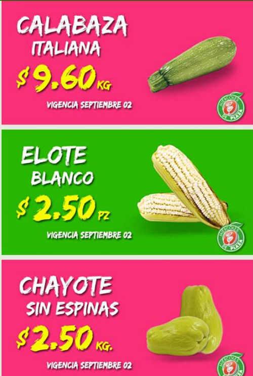 Miércoles de Plaza en La Comer Frutas y Verduras 2 de Septiembre