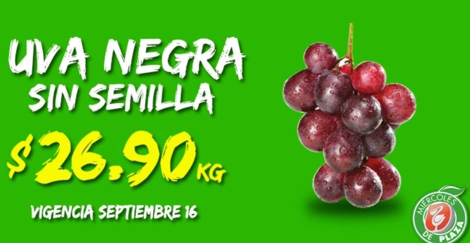 La Comer: Miércoles de Plaza Frutas y Verduras 16 de Septiembre