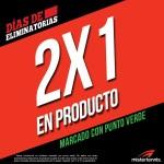 Mistertennis 2x1 en productos con punto verde