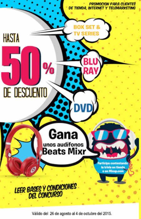 Mixup: hasta 50% de descuento en box sets, series de tv y mas