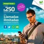 Movistar Plan Prepago Simple llamadas ilimitadas, redes sociales