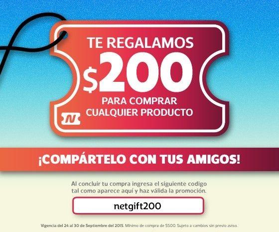 Netshoes Te regala $200 de descuento