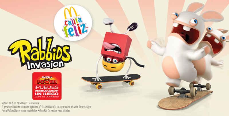 McDonald's Cajita Feliz de Rabbids Invasion