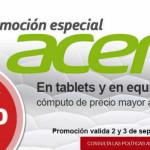 Office Depot descuento en tablets y computo Acer