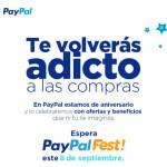 Paypal Fest 8 de Septiembre Smartphones desde $5