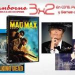 Sanborns 3×2 en CD´s, Películas y Series de TV