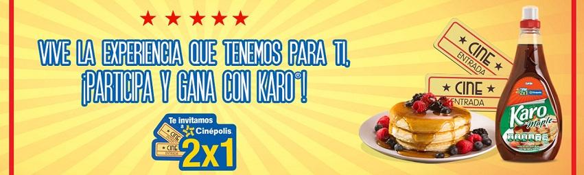 Promociones de 2x1 en Cine Cinepolis con Café Blasón y Miel Karo