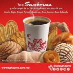 Sanborns Te regala pan dulce comprando café