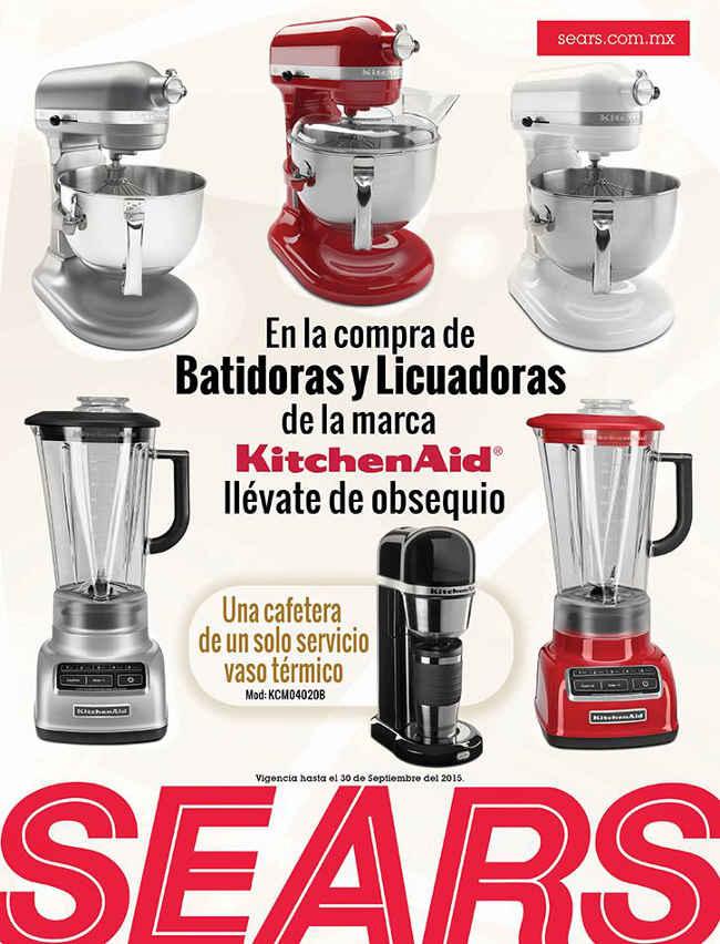 ears Regalos gratis comprando batidoras y licuadoras Kitchen Aid