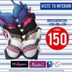 Suburbia Brassieres a $150 pesos