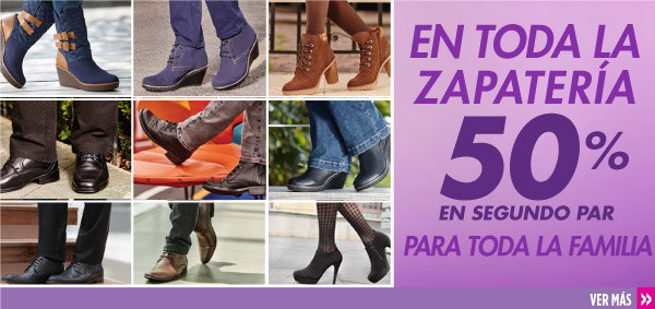 3ddacd007a89f Suburbia Descuento en Segunda Compra de Calzado Suburbia tiene la promoción  de 50% de descuento en segunda compra de calzado para toda la familia ...