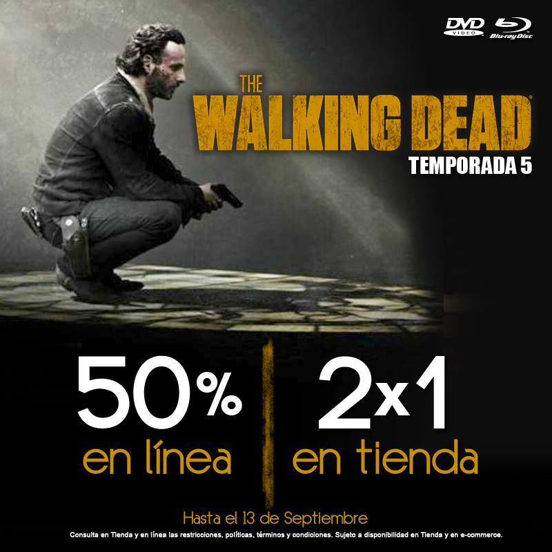 Blockbuster Serie The Walking Dead Temporada 5