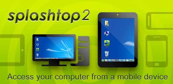 iTunes y Google Play: Gratis Splashtop 2 Controla tu PC desde  teléfono o tableta