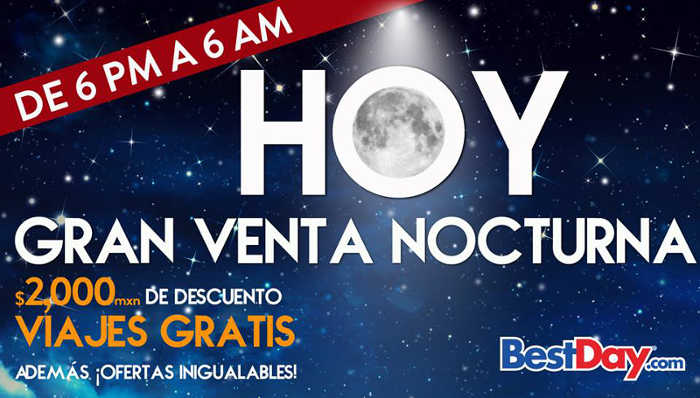 Best Day Venta Nocturna