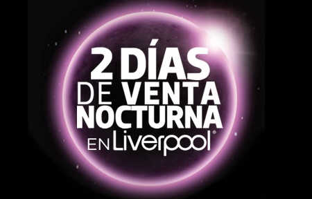 Venta Nocturna Liverpool
