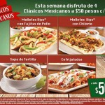 Vips Platillos Clásicos Méxicanos de la Semana