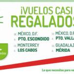 Vivaaerobus Vuelos nacionales desde 50 centavos mas impuestos