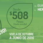 Vivaaerobus vuelos y viajes desde $508 hasta el 4 de octubre