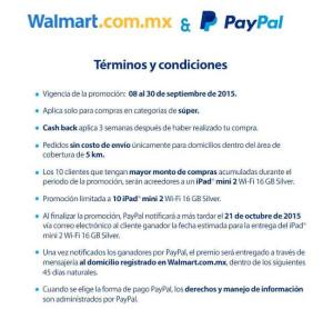 Walmart Super y Paypal
