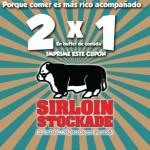 Sirloin Stockade Cupón 2×1 en buffet de lunes a viernes
