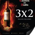 Bodegas Alianza 3x2 en Casillero del Diablo