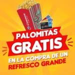 Promocion Cinemex Palomitas Gratis
