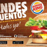Burger King Cuponera 2015 2016